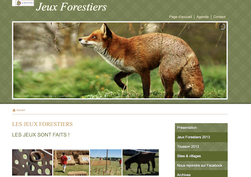 Jeux forestiers 2013