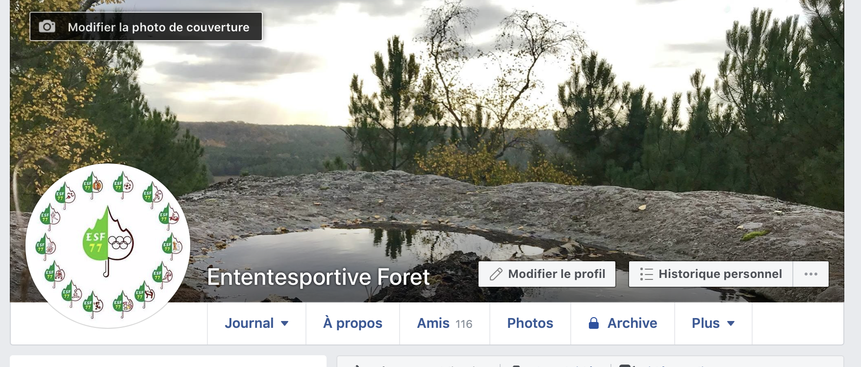 Page officielle ESF77