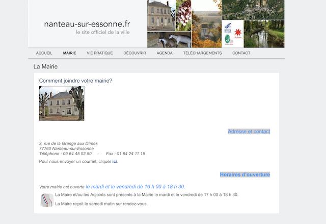 Nanteau sur Essonne